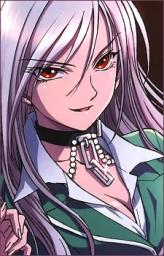 Inner Moka Akashiya from Rosario + Vampire