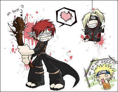Gaara is 100% Happy!!!