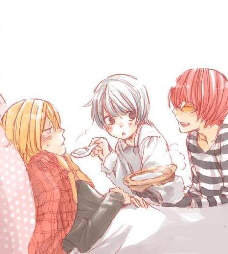 Near, Matt, and Mello from Death Note!!! ♥