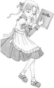 This is Mikan Sakura from Gakuen Alice, she's so adorable!