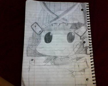 I drew this picture of Samurai Reborn :)