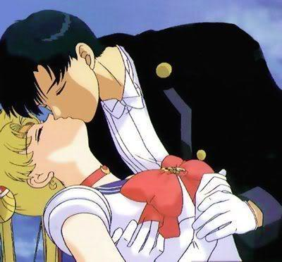 Sailor moon and Tuxedo mask!