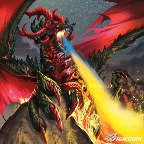DRAGON!!!!!!!!!!! :D :D :D (I would be this dragon but blue :3)