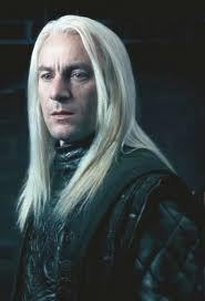 i don't know who my kegemaran character is but i guess my least kegemaran is lucius malfoy