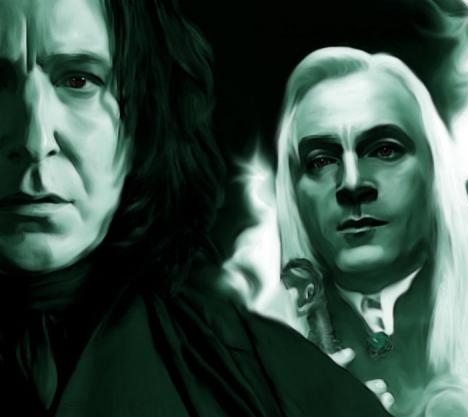 My Favourite: Snape Least Favourite: Lucius