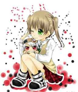 soul and maka from soul eater^-^