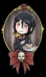 x3 آپ dont need to ask me :DDDDD Sebastian Is meh favorite! :D I love him cause that smirk, his attitude, HIS LOOKS, The way he teases Ciel. His uses knifes and forks to kil xD and he takes his gloves off in a very sey way .////. xD (sEBASTIAN IN cHIBI FORM) :D Oh and he likes Kittens :P