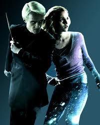 My kegemaran is Hermione and my least is Draco Malfoy!!!