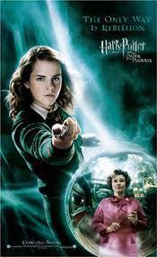 My kegemaran character is Hermione, and my least kegemaran is Umbridge.