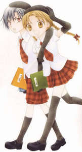 my paborito couple hands down is Mikan and Natsume from the anime Gakuen Alice