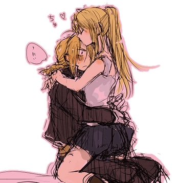 Ed and Winry . They look like an awesome couple .