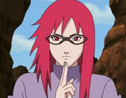 What about Karin from Naruto she looks like this