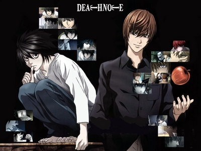 Death Note, if 당신 haven't seen it already. It's easily the best 아니메 I've ever seen. Exciting plot, interesting characters, and a moral if 당신 quint and tilt your head a little to the right. The story is really cool and exciting, but only if you're okay with things like murder and violence. It doesn't get really bloody until the last episode, and most of the people die of 심장 attacks, though. 당신 may not like it, judging 의해 how you've only seen shoujo animes.... But there is romance (mostly one-sided.) Anyway, it's about a boy who gains the power to kill someone just 의해 knowing their name and face, and he decides to make the world a better place 의해 ridding it of all the criminals. He pretty much goes insane, though. ^^
