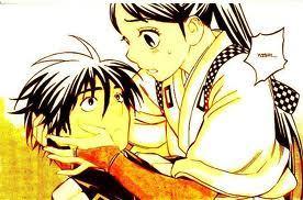Tokine and Yoshimori from Kekkaishi <3