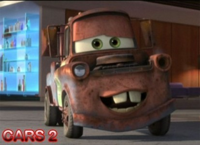 Mine is most defintally Mater the tow truck!