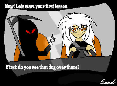 ...its is where Bakura learn to drive. (and i know its will not work TT.TT)
