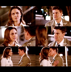 """Booth & Brennan's scene in 5x16, The Parts in the Sum of the Whole. Every time I watch this scene I tear up :'(.  I'm the gambler. I believe in giving this a chance. Look, I want to give this a shot.You mean us? No, the FBI won't let us work together as a couple- Don't do that, that's no reason [Booth kisses Brennan]. No, No! Why? Why? You-you thought you were protecting me, but you're the one who needs protecting.Protecting from what? From me! I - I don't have your kind of open heart. Just give it a chance..that's all I'm asking.. No, you said it yourself; the definition of insanity is doing the same thing over and over again and expecting a different outcome. Well, then let's go for a different outcome here, alright? Let's just - hear me out, alright? You know when you talk to older couples who, you know, have been in love for 30 or 40 or 50 years, alright, it's always the guy who says """"I knew."""" I knew. Right from the beginning. Your evidence is anecdotal. I'm that guy. Bones, I'm that guy. I know. I- I am not a gambler; I'm a scientist. I can't change. I don't know how. I don't know how.  (The scene is really long ahaha)"""