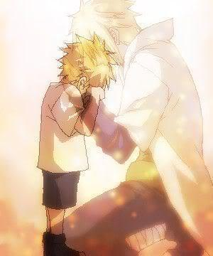 Naruto and Minato <3