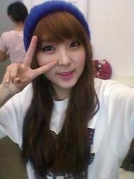 sohyun !!! i like to be the maknae.~~ and she is my fav member ~