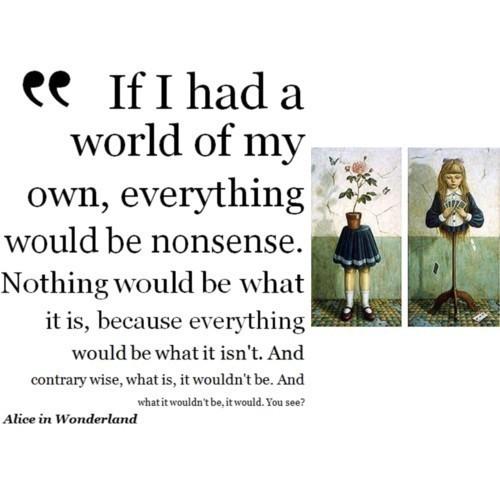 Alice In Wonderland. < 3