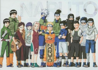 Of those.... Naruto is my favorite. :3