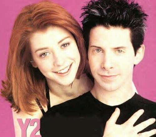 girl Alyson hannigan boy Seth green
