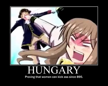 Totally Hungary from Hetalia.