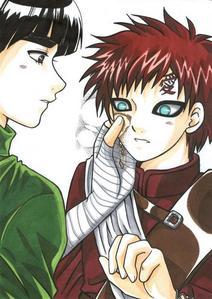 Ok this is gonna be unpopular I suspect but imma put it anyway... Lee x Gaara from Naruto♥