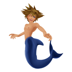 Sora from KH!!! I প্রণয় WHEN HE (Haley Joel Osment) Sings Under the Sea with Sebastian and Ariel