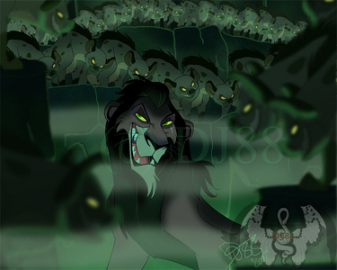 Jafar from Aladin (Ughh!!Yuck) Scar fron The Lion King (the evil,nasty looking lion)his mom was freaky too.