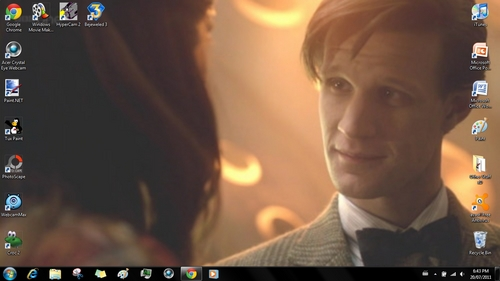 Matt Smith <3 It took FOREVER for my internet to post a picture ¬¬