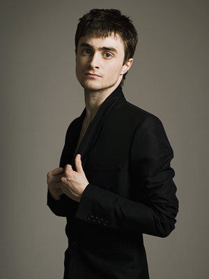 I would like to be as old as Daniel Radcliffe. I want Daniel Radcliffe as my boyfriend and as my husband in the future.