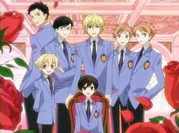 OURAN HIGH SCHOOL HOST CLUB!!!! I always heard about it and I played a dress up game about and I'm like OK I guess I'll watch a few episodes and now I'm an otaku like Konata!!!! ;)