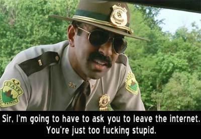 I tell stupid people(not u)
