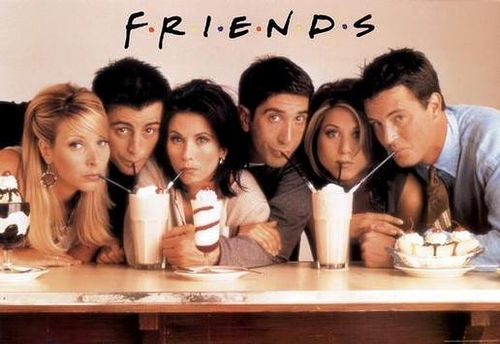 I listen 2 JLS atau watch Friends.