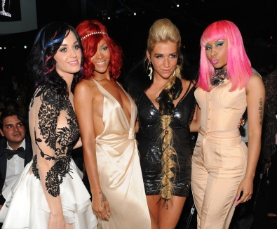 Yes, there are also Katy Perry and Nicki Minaj, but I hope you'll like it anyway. :)