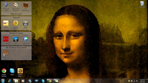 Mona Lisa C: