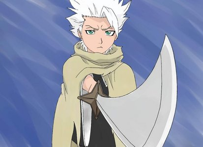 [b]Honestly,I don't like her..at all.D: Anyways,Toshiro Hitsugaya from Bleach!8D[/b]