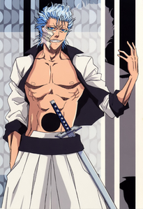 grimmjow from bleach bishes