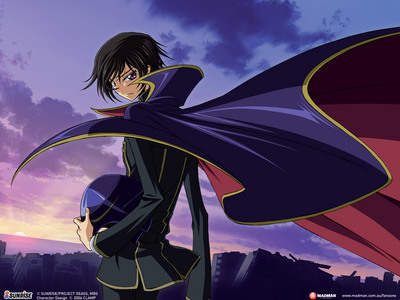 Lelouch from Code Geass of course!
