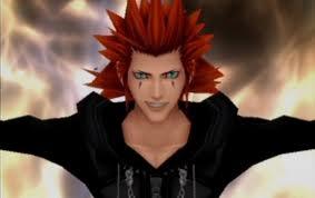 Axel, from kingdom hearts