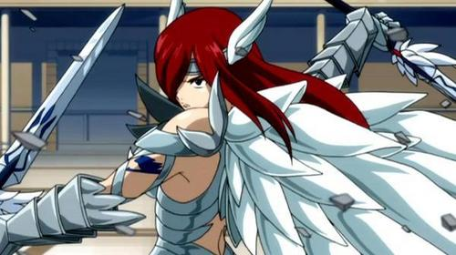 The strongest জীবন্ত girl i ever seen!the কুইন of the fairies!!!Erza Scarlet!!! Titania!!U go girl!!