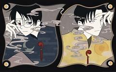 Kimihiro Watanuki and Shizuka Dōmeki (xxxholic)