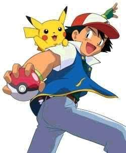 I have a crush on Ash Ketchum from pokemon <3