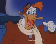I've had several cartoon crushes my biggest (and weirdest) one was Launchpad McQuack.