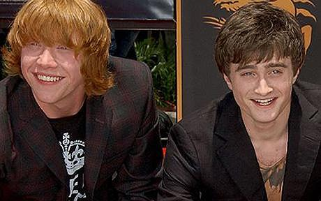 Rupert Grint and Daniel Radcliffe... I used to like Logan Lerman but not so much anymore :-/ sorta Justin Bieber, over him now, a long time Vor Nick Jonas, but I don't think he really exists anymore lol...