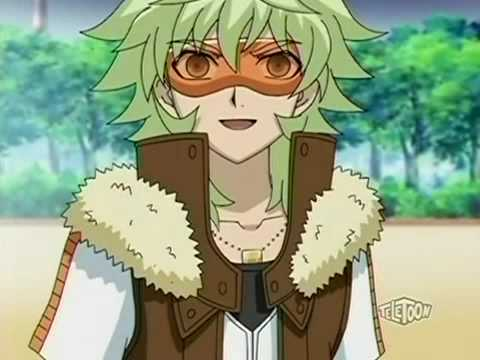 Prince Hydron from Bakugan N.V(He only wears them for 1 episode)