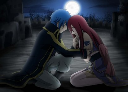 HERE ONE(JELLAL AND ERZA FROM FAIRYTAIL)ITS TOUCHING