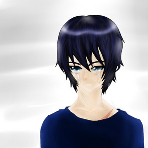 It isn't my best, but I like the way I colored it. (Done on paper, then fixed the lineart and colored it in SAI.)