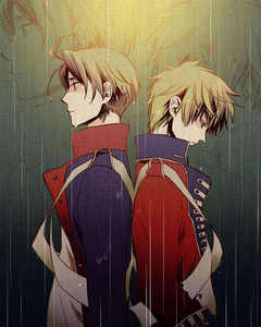 "Because Du sagte boy , ""Yaoi"" so , I choose Uk and Us in Hetalia Axis Power"